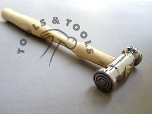 TEXTURING HAMMER BULLSEYE WIDE/ NARROW LINES TEXTURE METAL JEWELRY REPOUSSE TOOL