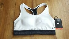 BNWT Women's Nike Pro Fierce Reflective Sports Bra. UK Size Small.