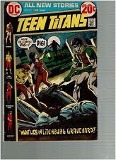 Teen Titans 41 What Lies In Litchberg Graveyard Vg/F