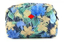 Oilily Cosméticotasche Flower Field M Toiletry Bag Blueberry