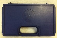 Small S&W Factory Original Blue Pistol Case Gun Storage Blue Smith And Wesson
