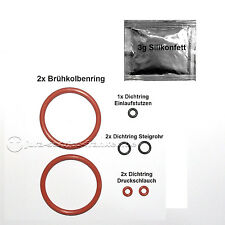 Dichtung Set + Silikonfett pass. für Brüheinheit Brühgruppe Jura und baugleiche