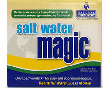 Natural Chemistry Salt Water Magic 07404 Swimming Pool Chemical Monthly Kit