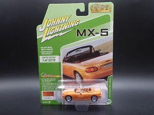 2021 JOHNNY LIGHTNING 1999 MAZDA MX-5 MIATA CLASSIC GOLD VS B REL 2 NO 5 1:64