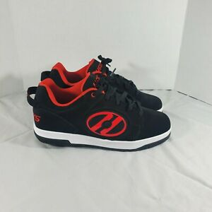 Heelys Voyager Black/Red Skate Shoe Size 11 USA, New See Description & Photos