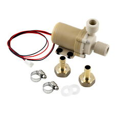12V 3M Solar Hot Water Pump Circulation Brushless Motor 212° F w/ Coupler GU