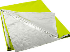 Rothco High Visibility Green/Silver Polarshield Emergency Survival Blanket 1044