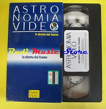 VHS film cartonata IN DIRETTA DAL COSMO Astronomia video 1991 FABBRI (FP2)no dvd