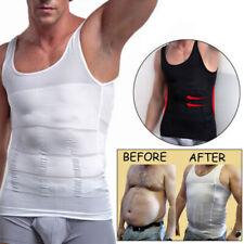 Powerful Men Slimming Body Shaper Vest Slim Chest Belly Waist Boobs-COMPRESSION