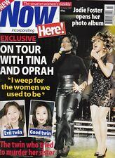 TINA TURNER - OPRAH WINFREY - JOAN COLLINS - Vintage NOW Magazine 1997 C#42