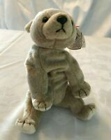 Ty Beanie Baby Almond The Bear # 4246 DOB April 14,1999 With Tag Errors