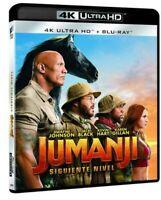 Jumanji: Siguiente Nivel Ultra HD Blu-ray REGION LIBRE.A-B-C (NUEVO PRECINTADO)