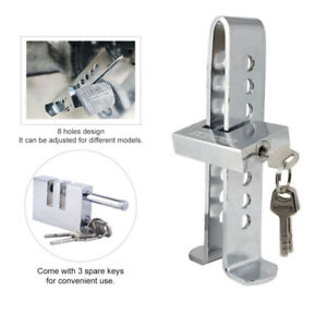 Car Pedal Theft Proof Security Pedal Stainless Steel Brake 8hole Anti-theft Lock