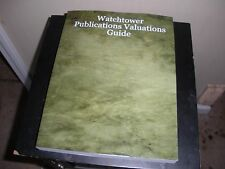 """""""Watchtower Publications Valuations Guide"""" Stan Milosevic historical research"""