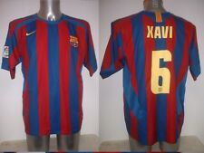 "Barcelona XAVI Shirt Jersey Football Soccer Nike Adult XL 46"" Spain Top Espana"