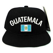 National Guatemala Flag Snapback Baseball Cap Hat Adjustable Snap Back closure