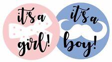 """X30 Baby Shower género revelan """"es una chica 'y' es un niño 'Fiesta Juego Pegatinas!!!"""