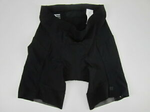 Mens XXL Bontrager Velocis Fitted black compression padded cycling shorts