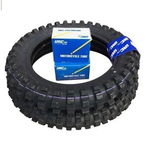 YAMAHA TT-R50, TTR50 (06-20) Front & Rear 2.50-10 Inch Knobby Tyres & Tubes Set