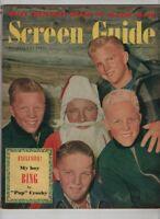 Screen Guide Mag My Boy Bing By Pop Crosby December 1949 072220nonr
