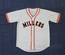 Throwback 1951 Millers Willie Mays #28 Baseball Jerseys All Stitched 2 Colors