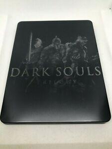 "Dark Souls Trilogy Steelbook Case PS4/XBOX (NO GAME) ""CUSTOM"""