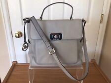 Michael Kors  Leather Satchel crossbody Bag - Dove grey