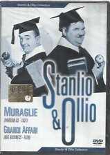 DVD STANLIO & OLLIO COLLECTION 4 MURAGLIA - GRANDI AFFARI NUOVO INCELOFANATO