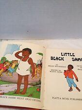 "Vtg ""LITTLE BLACK SAMBO"" Book Platt MUNK  Pub USA  Pics By Eulolie"