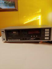 Vintage Sanyo Ultrx Rd-C11 Single Deck Cassette Player Recorder - Works