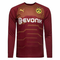 Borussia Dortmund BVB Mens Football Home Long Sleeved Goalkeeper Shirt 2018 19