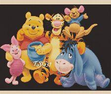 Disney Cross Stitch Chart - disney  Wiinnie the Pooh No. 4- No 353b.TSG37