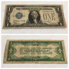 VINTAGE RARE 1928-E ONE DOLLAR $1 SILVER CERTIFICATE BILL FUNNYBACK WASHINGTON