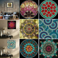 Mandala flowers 5D Diamond Painting Embroidery Full Drill Cross Stitch Art Decor