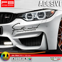 Adesivi Stickers Pegatinas  BMW M Performance Sport Mind Safety Car Tuning DTM