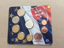 Blister officiel BU 2009 Slovaquie de 8 pièces de 1 c à 2 € + médaille argent