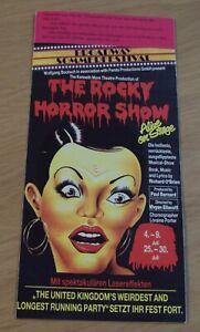 "VTG 1989 'German BROADWAY Sommerfestival' Brochure~""The ROCKY HORROR SHOW""~"