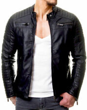 Mans High Quality leather jacket genuine Sheep Skin Leather And Biker/Motorcycle