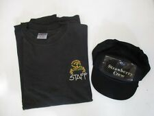 Strawberry Springs '93 Music Festival staff T-shirt and hat. XXL
