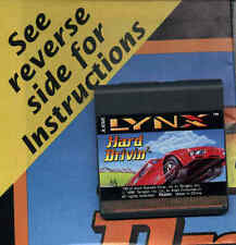 NEW Hard Drivin' w/Manual(poster) - Atari Lynx Never Boxed BRAND NEW Pre-pack