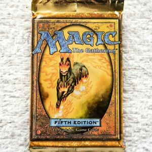 MTG: 5th EDITION Sealed Booster Pack from Box - Magic the Gathering - English