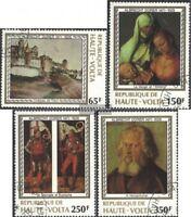 Obervolta 732-735 (kompl.Ausg.) gestempelt 1978 Albrecht Dürer