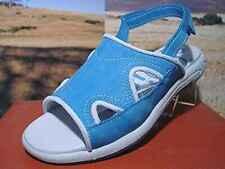 s.Oliver Sandalen Sommer Sandaletten Damenschuhe Gr.38 blau 52206 Neu15