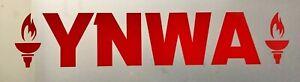 YNWA Liverpool Vinyl Decal window car bike wall laptop sticker