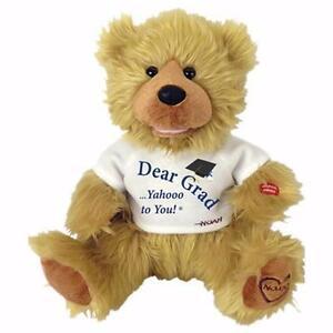 CHANTILLY LANE NOAH BEN SHEA GRADUATION BEAR... INSPIRATIONAL..