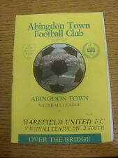 06/10/1990 Abingdon Town v Harefield United  .  Thanks for viewing our item, we