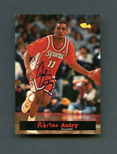 1994 Adrian Autry Classic Rookie RC On-Card Auto #25 Syracuse Orange