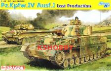 Dragon 1/35 6575 German Pz.Kpfw.IV Ausf.J Last - 2017 Edition * FREE SHIP