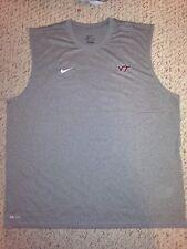 NEW Nike Dri-Fit Virginia Tech Hokies Mens Sleeveless Athletic Shirt *XXL*