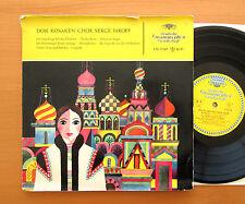"LPE 17067 Don Cossak Choir Serge Jaroff Russian Choir 10"" Vinyl Tulip NM/VG"